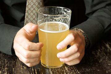 business drinking break