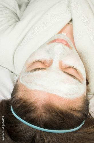 beauty session - face mask