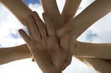 hands like a sun poster