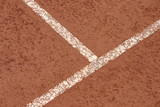 clay court poster