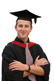 graduation student - isolated poster