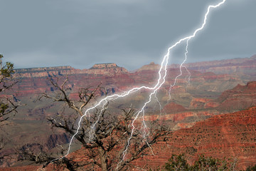 canyon lightening