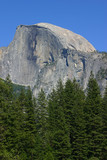 half dome at yosemite poster