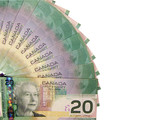 canadian dollars poster