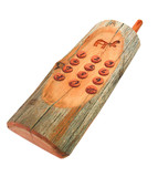 wooden phone poster