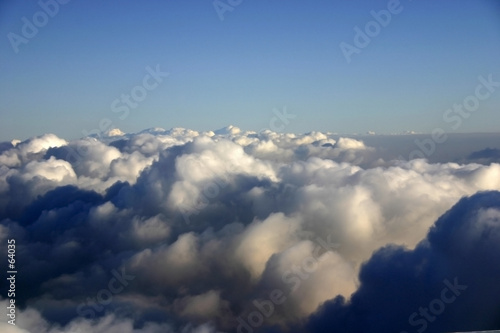 poster of colorful sky with clouds