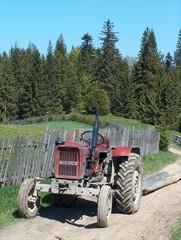 tracteur des carpates
