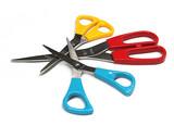 stationery - scissors poster