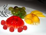 luminous fruit jelly poster