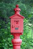 antique fire alarm poster