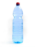 bottle with water poster