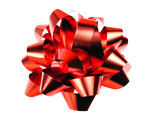 gift red bow poster