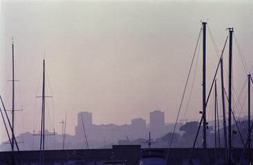 castillo en la niebla