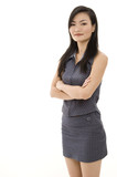 asian businesswoman 6 poster