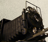 old 4x5 camera poster