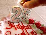 lighting birthday candles poster
