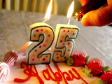 lighting birthday candles 2 poster