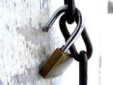 pad lock poster
