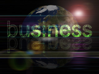 global background series- business