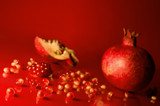 pomegranate seeds poster