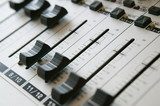 audio mixing panel 1 poster