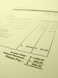 invoice poster