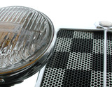 front grille and headlight poster