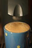 espresso avec mousse poster