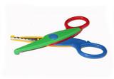 stationery - wavy scissors poster