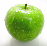 granny smith apple 2 poster