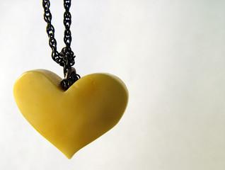 valentine amber heart 1