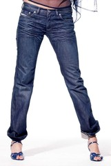 jeans on