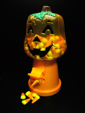 halloween candy dispenser poster