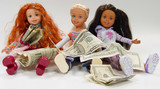 dolls and money poster