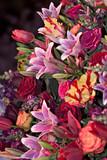 flower arrangement poster