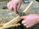 craftsman using handtools poster