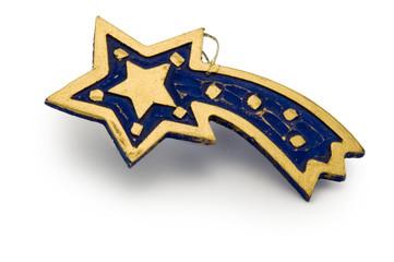 wooden falling star