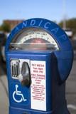 handicap parking meter poster
