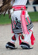 feet of native american dancer