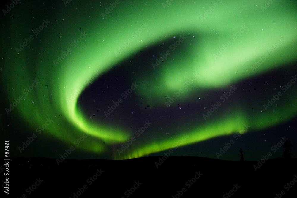 aurora północny światło - powiększenie