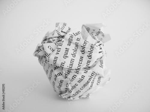 Boulette de papier photo libre de droits sur la banque d 39 images image 88295 - Boulette papier mariage ...