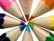 pencil colour wheel