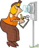 electric meter reader poster
