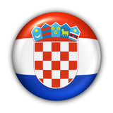 croatia flag poster