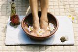 aromatherapy footsoak poster