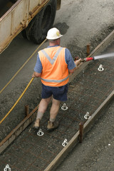 tradesmen hosing