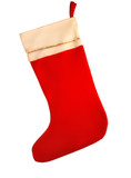 christmas stocking poster