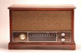 antique radio poster