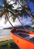 orange boat poster