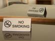 please no smoking!